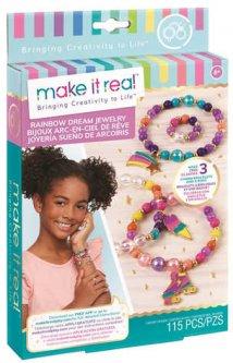 Набор для создания шарм-браслетов Make it Real Цветная мечта (MR1204) (695929012045)