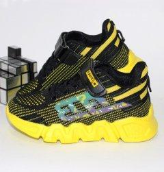 Кроссовки для мальчика Alemy Kids JJ5063W 28 17.7см черный