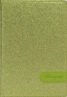 Блокнот Bourgeois N9019 70 г/м² Искусственная кожа А5 80 листов в клетку Зеленый (6923749726762)