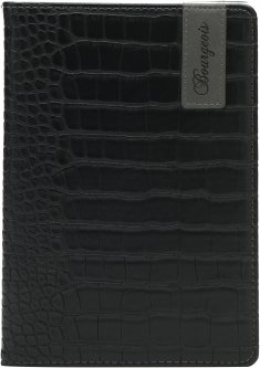 Блокнот Bourgeois N9030 70 г/м² Искусственная кожа А5 80 листов в клетку Черный (6923749726878)