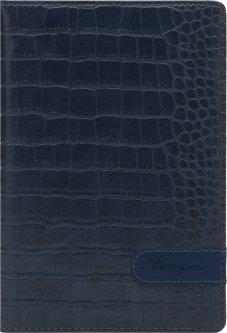 Блокнот Bourgeois N9031 70 г/м² Искусственная кожа А5 80 листов в клетку Черный (6923749726885)
