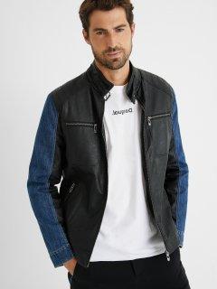 Куртка с искусственной кожи Desigual 21SMEW11-2000 L (8445110157053)