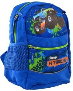 Рюкзак детский 1 Вересня K-20 M-Trucks 0.275 кг 22х29х15.5 см 10 л (556511)