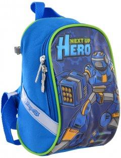 Рюкзак детский 1 Вересня K-26 Steel Force 0.14 кг 14х22х11 см 3 л (556473)