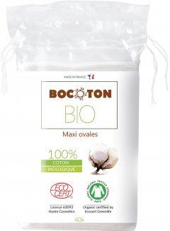 Ватные диски Bocoton Bio органические овальные большие 40 шт (3265660395003)