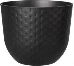 Вазон Elho Fuente Grains 30x24 см Черный (480257)