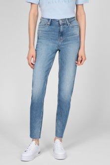 Жіночі сині джинси GRAMERCY TAPERED HW A LAY Tommy Hilfiger 27-30 WW0WW30218