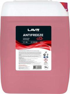 Антифриз LAVR -45°С G12+ (красный) 10 л (Ln1711)