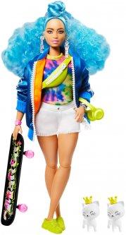 Кукла Barbie Экстра с голубыми кудрявыми волосами (GRN30)