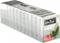 Презервативы Unitex Classic 12 упаковок по 4 шт (798190041179)