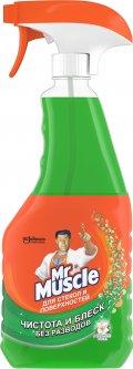 Средство для мытья стекол Mr Muscle Профессионал с курком с нашатырным спиртом 500 мл (4823002000153)