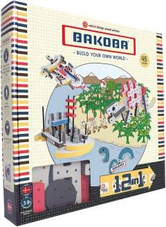 Мягкий конструктор Bakoba 45 детали (5700002036483)