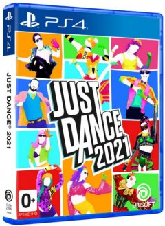 Игра JUST DANCE 2021 для PS4 (Blu-ray диск, English version)