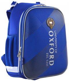 Рюкзак школьный каркасный 1 Вересня H-12 Oxford для мальчиков 1.1 кг 29х38х15 см 16.5 л (555948)