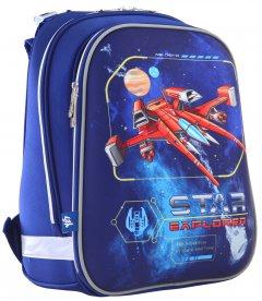 Рюкзак школьный каркасный 1 Вересня H-12 Star Explorer 1.1 кг 29х38х15 см 16.5 л (555960)