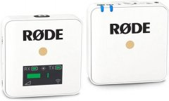 Накамерная радиосистема Rode Wireless GO White (230496)