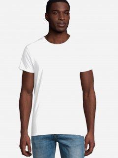 Футболка Sol's Pioneer Men Organic Cotton 03565102 S Белая (3609371056509)