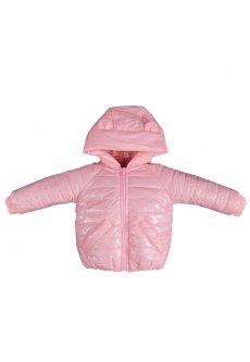Демісезонна куртка для дівчинки Vestes KY-035 р44 68см рожевий 58007