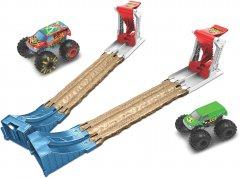 """Игровой набор Hot Wheels Двойной старт серии """"Monster Trucks"""" (GYC80)"""