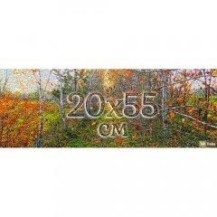 Друк на панорамному бавовняному полотні 20х55 см із підрамником Ra