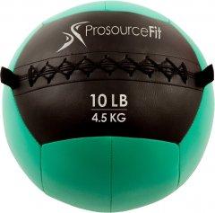 Мяч набивной для кроссфита ProSource Wall Ball Soft Medicine Ball - 4.5 кг Зелёный (ps-2211-mwb-10lb)