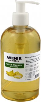 Пилинг для ног Avenir Cosmetics Callus Remover кислотный Банан 350 мл (4820440813994)