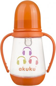 Бутылочка Akuku A0008 Orange 0+ 125 мл (Akuku A0008 orange) (5907644000081)