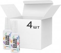 Упаковка антисептика для рук Doloni 4 шт х 50 мл (ROZ6400105334)
