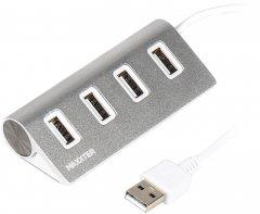 USB-хаб Maxxter HU2A-4P-01