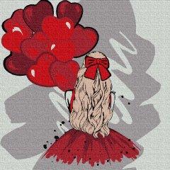 Картина по номерам Rosa Start With Love 25х25 см (4823098523642)