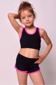 Шорти для гімнастики і танців O Marsel Чорний 116-122 (mb423/1-10)