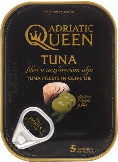 Тунец Adriatic Queen филе в оливковом масле 105 г (3850160108538)