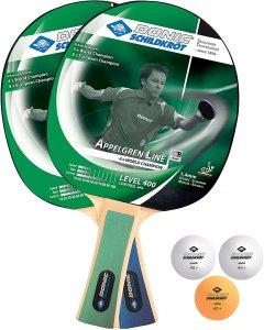 Набор для настольного тенниса Donic Appelgren 400 2-player set 2 ракетки + 3 мяча (788638)