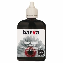 Чернила Barva для фабрик печати Epson L100/L210/L300/L350/L355 (T6641) 90 г Black (L100-398)