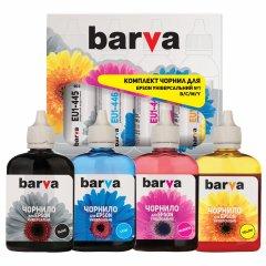 Чернила Barva Epson T048/T067/T073/T128/T170 Универсальные №1 4x90 гр B/C/M/Y (EU1-090-MP)