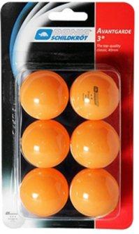 Мячи для настольного тенниса Donic Advantgarde 3* 40+ 6 шт Orange (658038)
