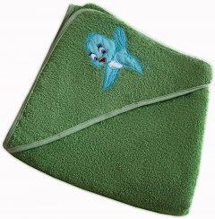 Детское полотенце Zeron Уголок 85x85 см (ДК8585салатовий)