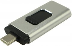 Beluck 32GB USB 3.0 3в1 USB Type-A + USB Type-C + Lightning Silver (BeluckFD32)
