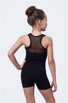 Напівкомбінезон для гімнастики і танців O Marsel Чорний 140-146 (mb427/1)