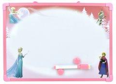 Детская магнитная доска маркерная-меловая малая Финекс Плюс Принцессы Анна и Эльза (79577408) (ДР0416)