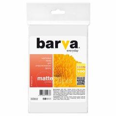 Бумага Barva Economy Матовая 10x15 100 листов 220 г/м2 (IP-AE220-224)