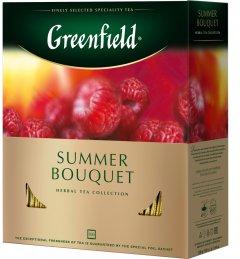 Чай пакетированный Greenfield Summer Bouquet 100 шт x 2 г (4823096806617)