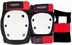 Набор защиты Tempish Downhill размер M Красно-белый (1020000716/M)