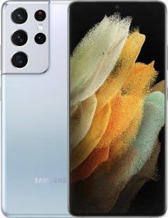 Мобильный телефон Samsung Galaxy S21 Ultra 12/256GB Phantom Silver (SM-G998BZSGSEK)
