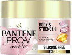 Маска для волос без силиконов Pantene Pro-V Сила и объем 160 мл (8001841884073)