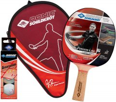 Набор для настольного тенниса Donic Persson 600 Gift set 1 ракетка + чехол + 3 мяча (788487)