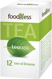 Лимонный чай в пакетиках FoodNess Tea al limone 20 шт (8031848003658)