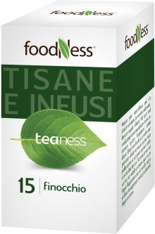 Травяной чай в пакетиках FoodNess Finocchio с фенхелем 20 шт (8031848003689)