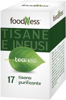 Очищающий травяной чай в пакетиках FoodNess Tisana Purificante 20 шт (8031848003702)