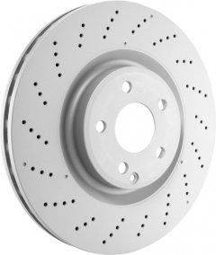 Тормозной диск передний Bosch Brake Disc Premium Dacia, Renault (0 986 479 553)